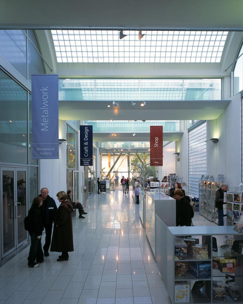 Millennium Galleries, Sheffield - The Avenue within the galleries