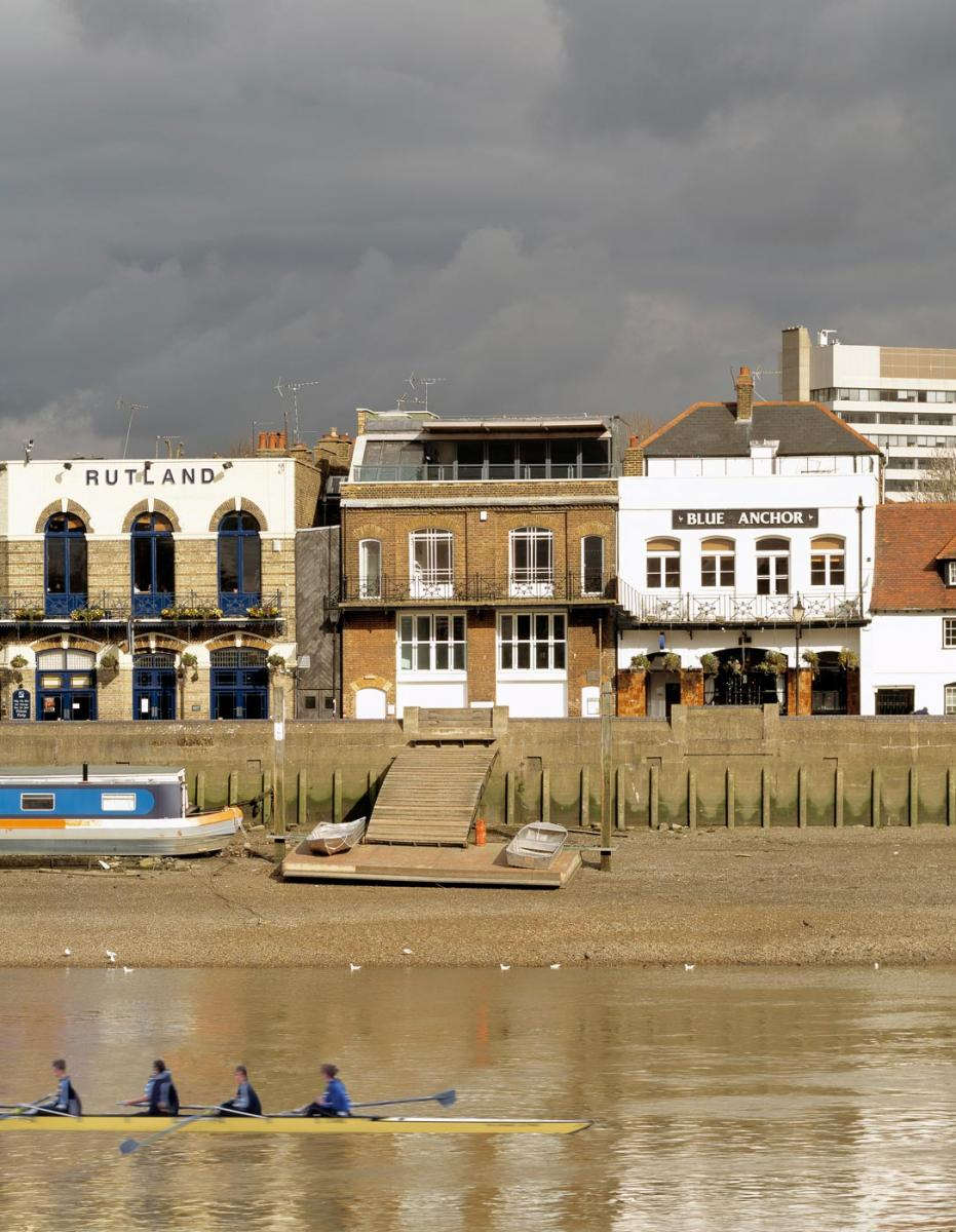 Auriol and Kensington Rowing Club - View from River Thames