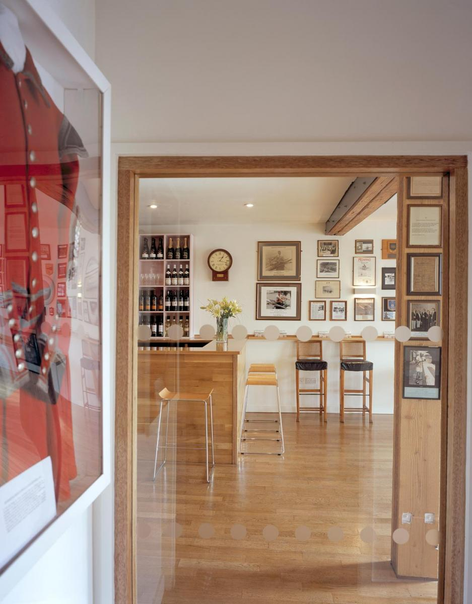 Auriol and Kensington Rowing Club - Interior view