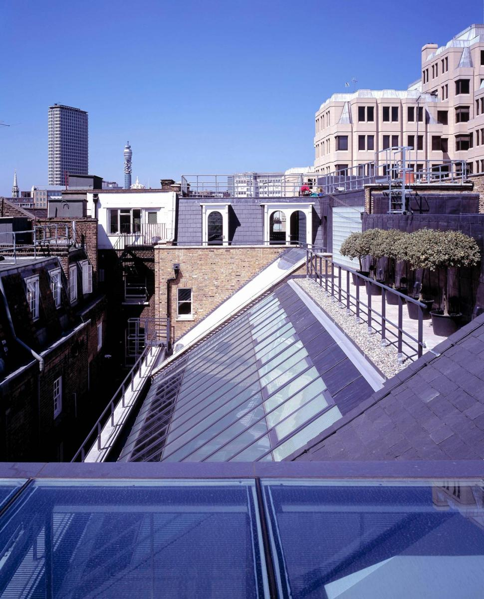 Floral Street, Covent Garden, London - Roof View