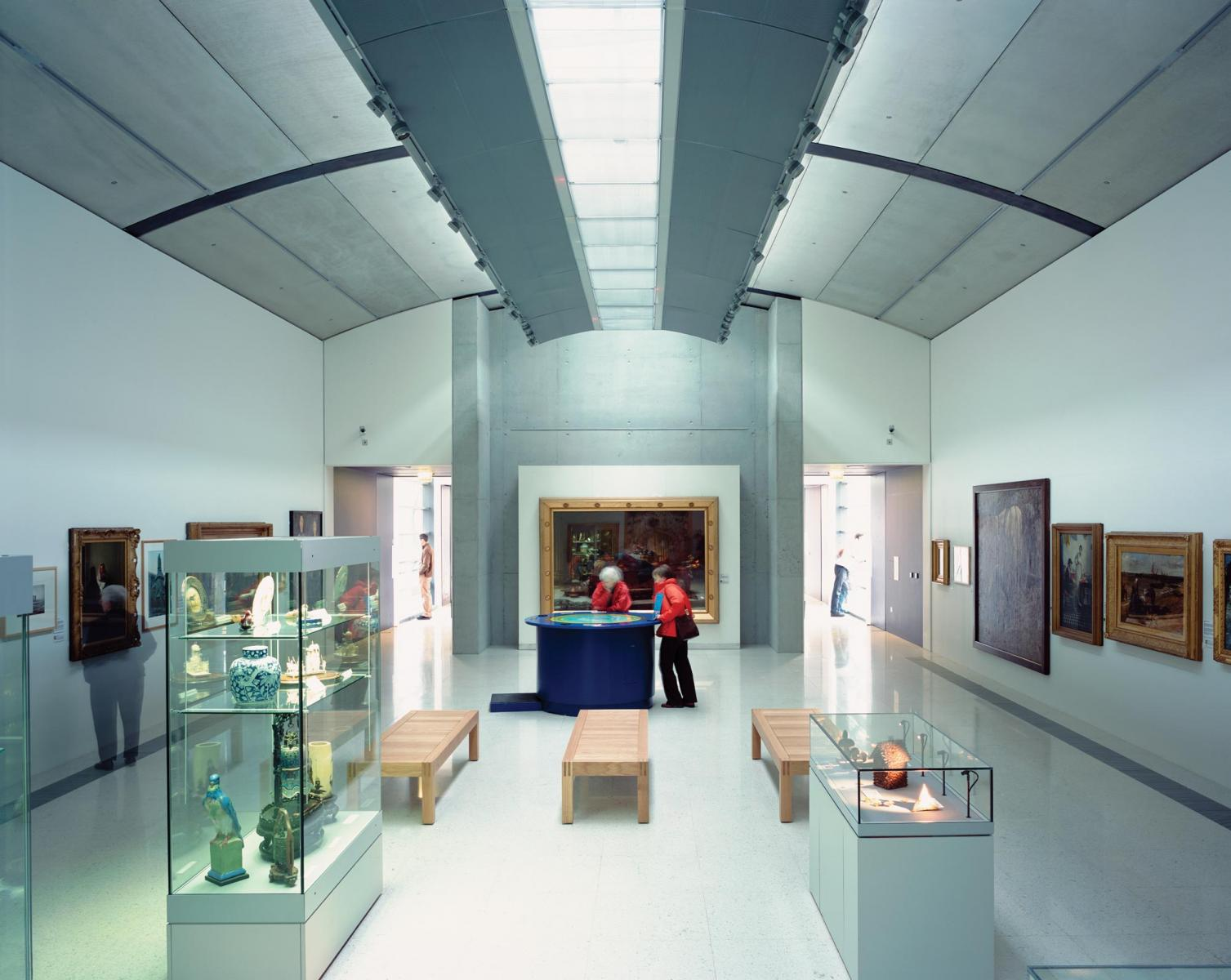 Gallery Oldham - Interior view of exhibition gallery