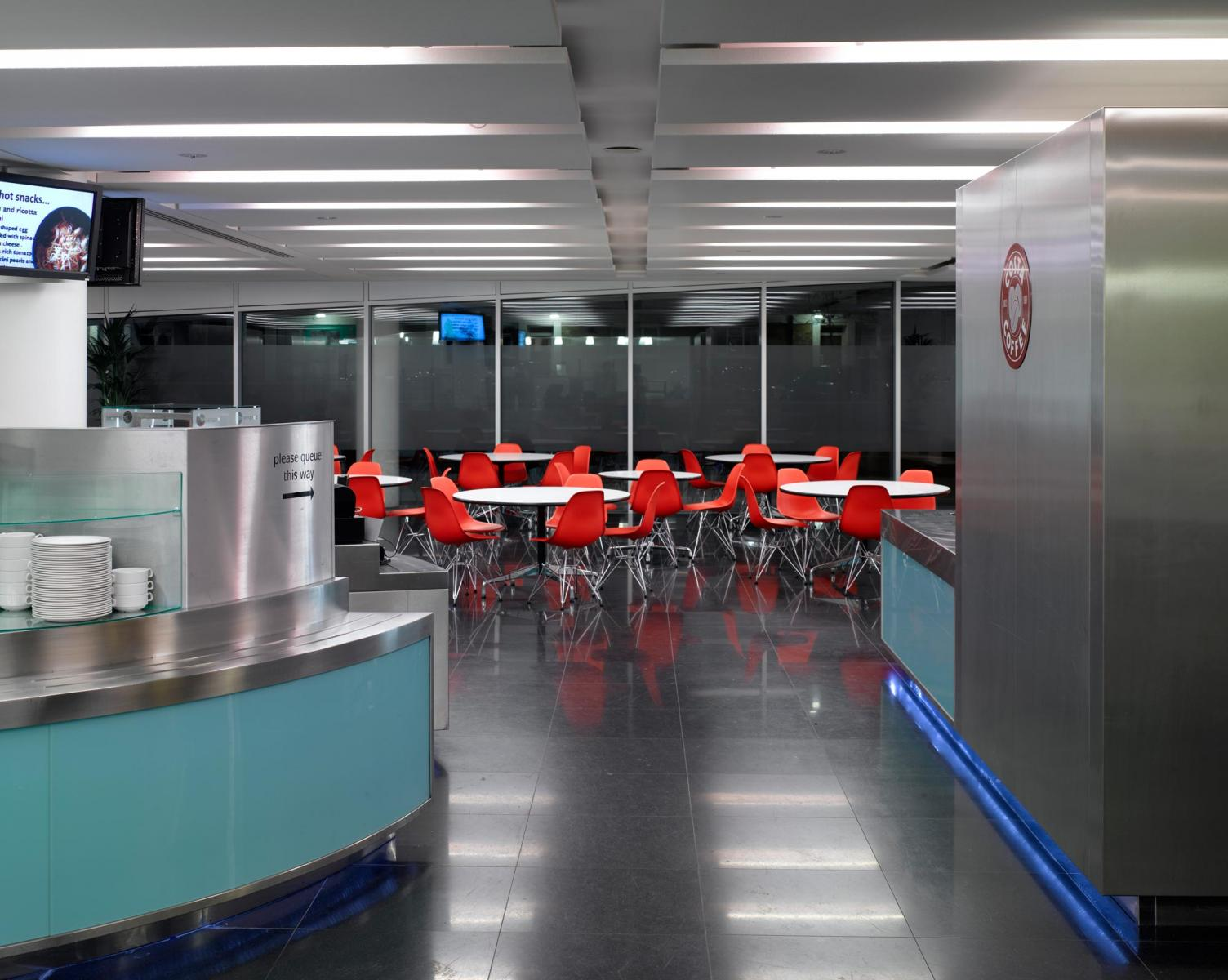 Tfl Palestra Building Fitout Prs Architects
