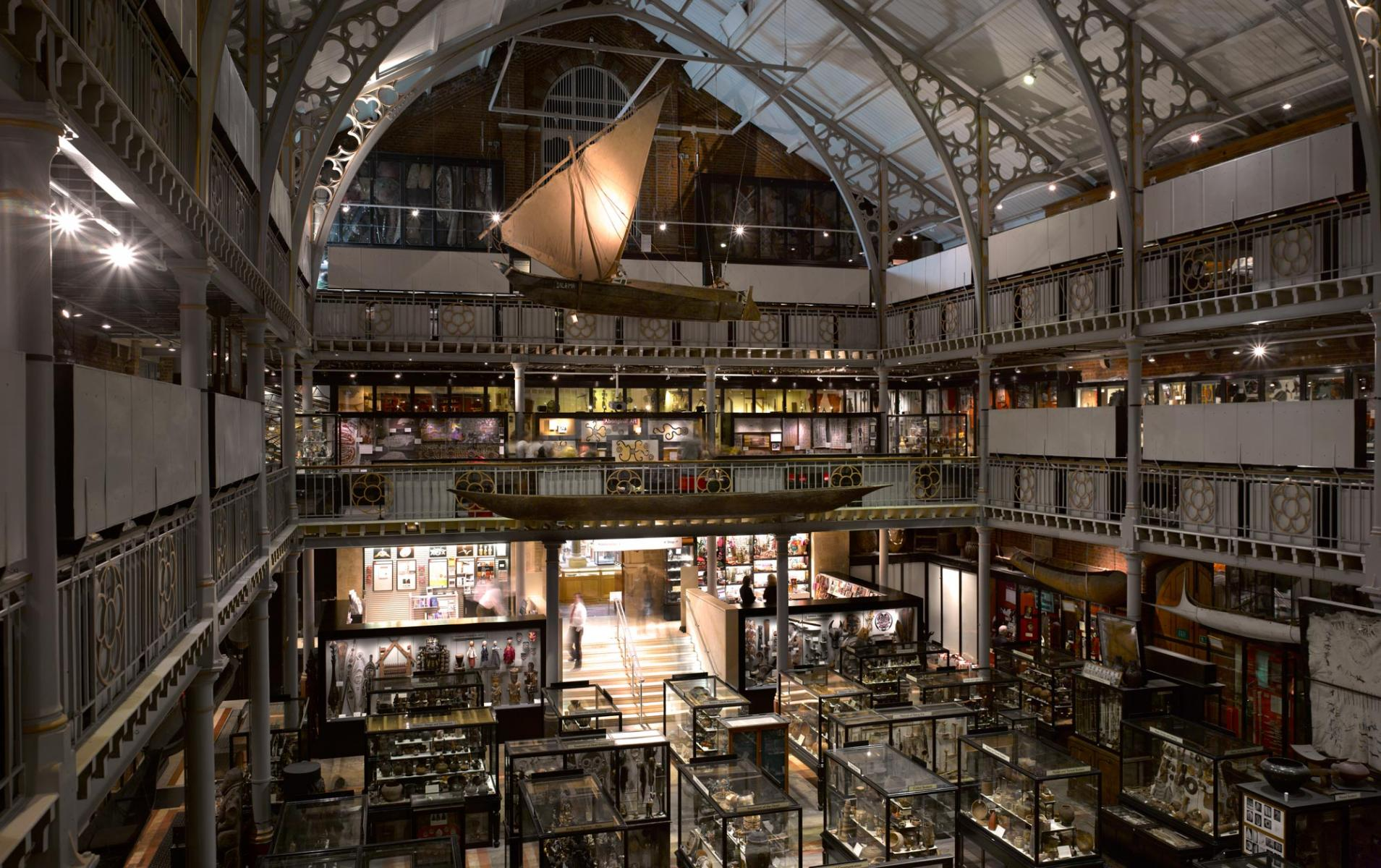 Pitt Rivers Museum Main Entrance and Refurbishment - Overall view