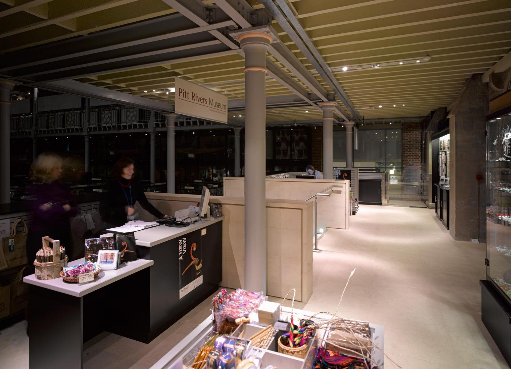 Pitt Rivers Museum Main Entrance and Refurbishment - Shop view