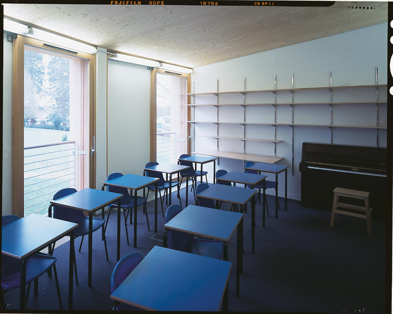 Shrewsbury School Music School - Classroom interior