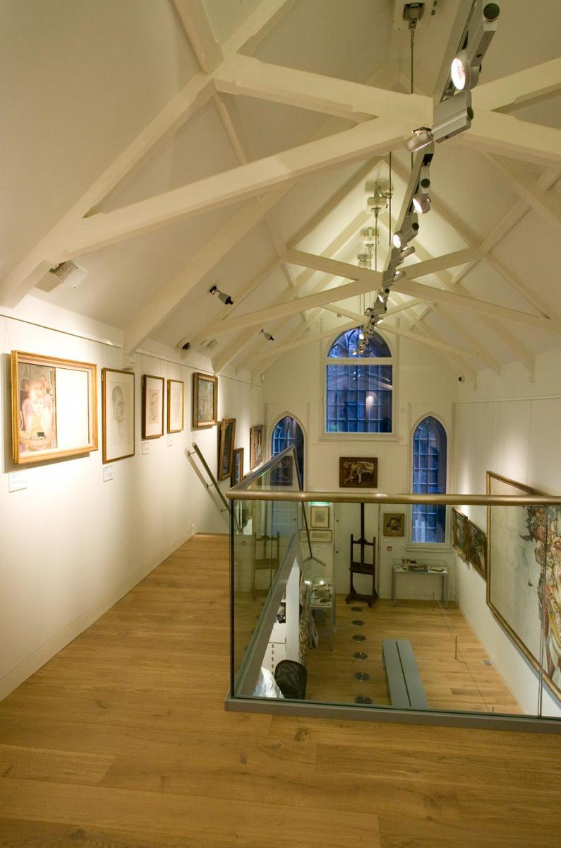 Stanley Spencer  Gallery, Cookham - Mezzanine level