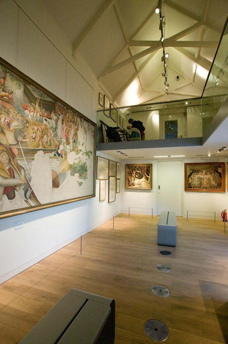 Stanley Spencer  Gallery, Cookham - Gallery interior
