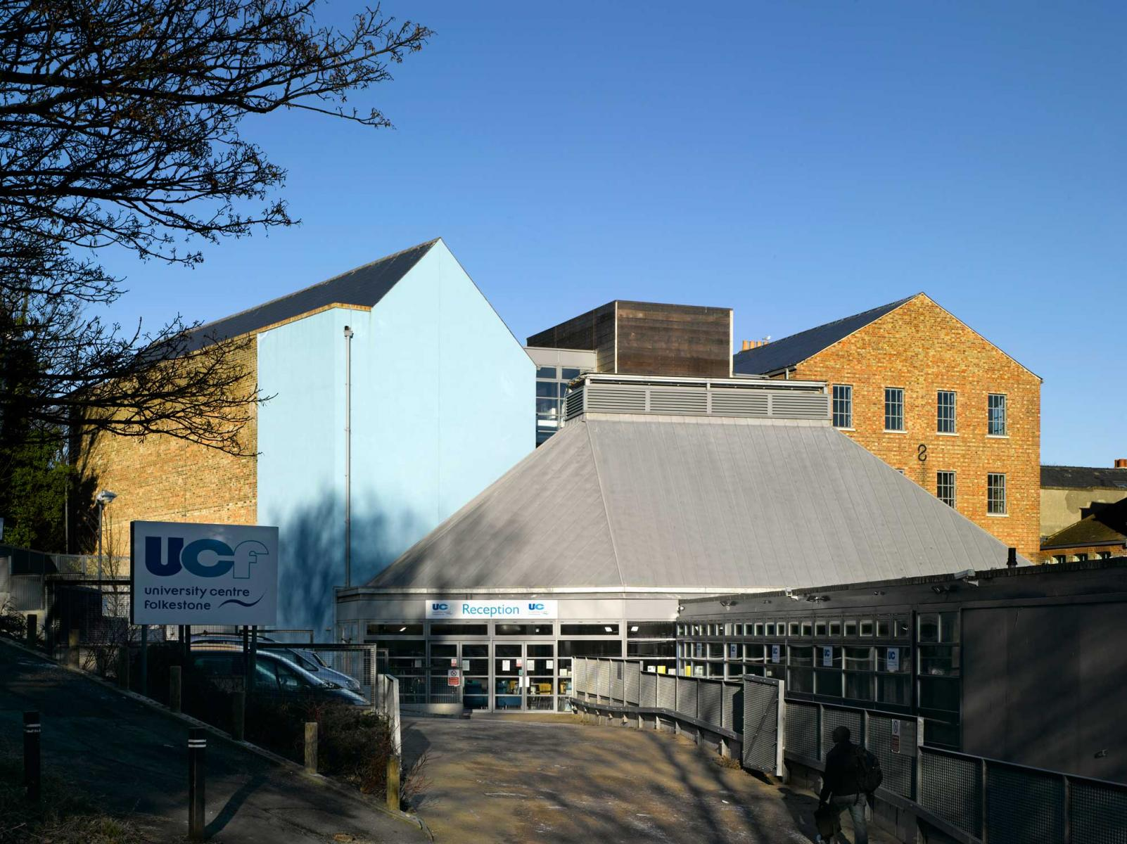 University Centre, Folkestone - Exterior View