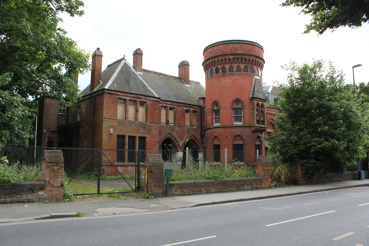 Ladywell Playtower, Existing Streetview, Pringle Richards Sharratt Architects