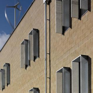 Health & Human Sciences Essex University - Exterior detail