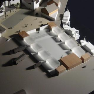 Newlyn Harbour Fish Market & Processing Units - Model of development