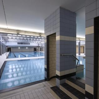 Poplar baths interior pool