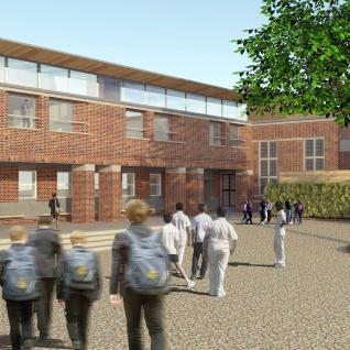 Whitgift School Masterplan Croydon New Classroom Block