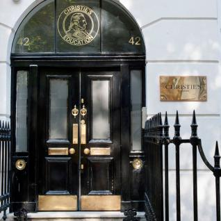Christie's Education, 42 Portland Place,Westminster, London - Main entrance