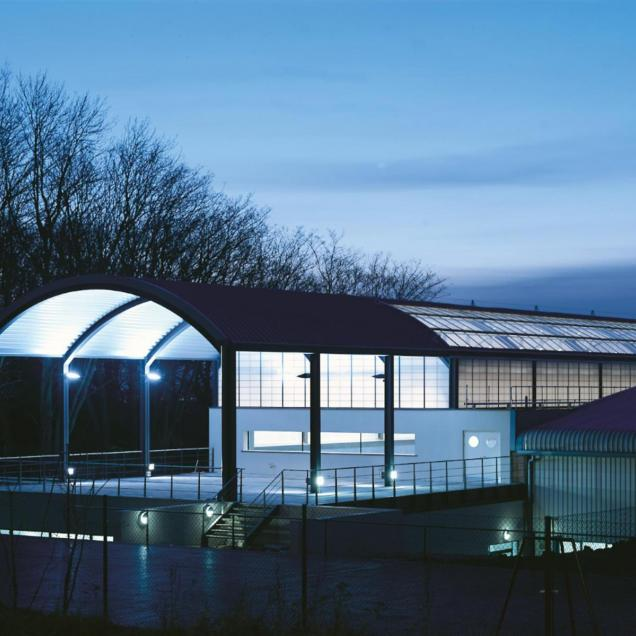 Sports Centre, Hendon - Exterior view