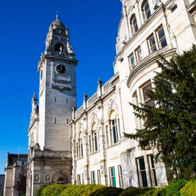 Surrey County Hall, Kingston upon Thames, London, View of the existing iconic ClockTower, Pringle Richards Sharratt